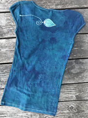 Morning Glory Wilderness Handmade Batik Summer Tee