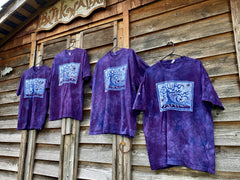 Oak Tree by The River Pure Cotton Batik T-shirt Tshirts batikwalla