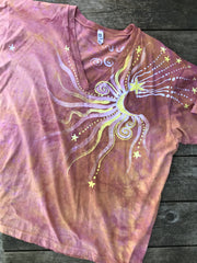 Sunshine Day At The Beach Vneck Tee Batikwalla by Victoria 2X