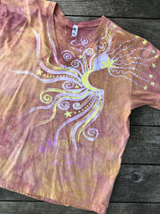 Sunshine Day At The Beach Vneck Tee Batikwalla by Victoria XL