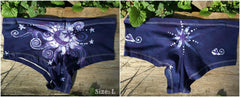 Batik Boyshort Undies - Midnight Blue Moon - Batikwalla   - 8