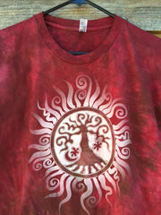 Tree of Life Organic Batik Imperfect Tshirt - Batikwalla   - 1