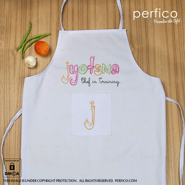 Personalized Kitchen Apron for Girls