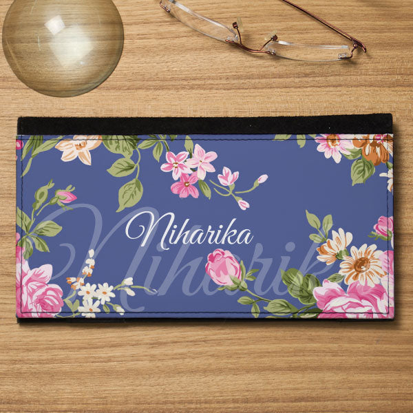 Personalized Cheque Book Holder