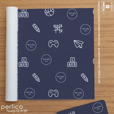 Personalized Gift Wrapping Paper
