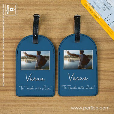 Picture Perfect Luggage Tag