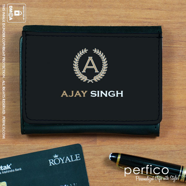 Personalized Business Card Case gift for father