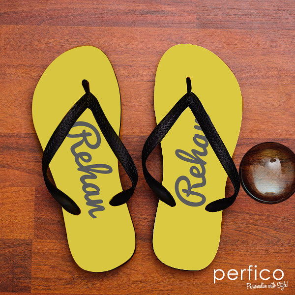 Personalized Flip Flops- Friendship Day Special Gifts