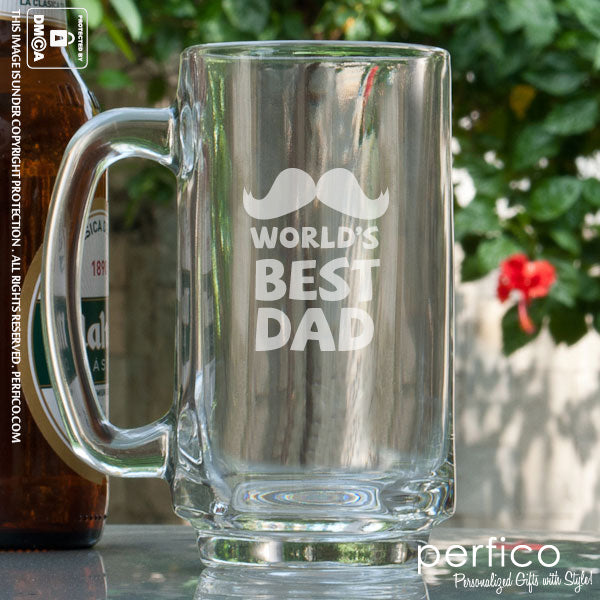 Personalized Glasses: gifts for dad