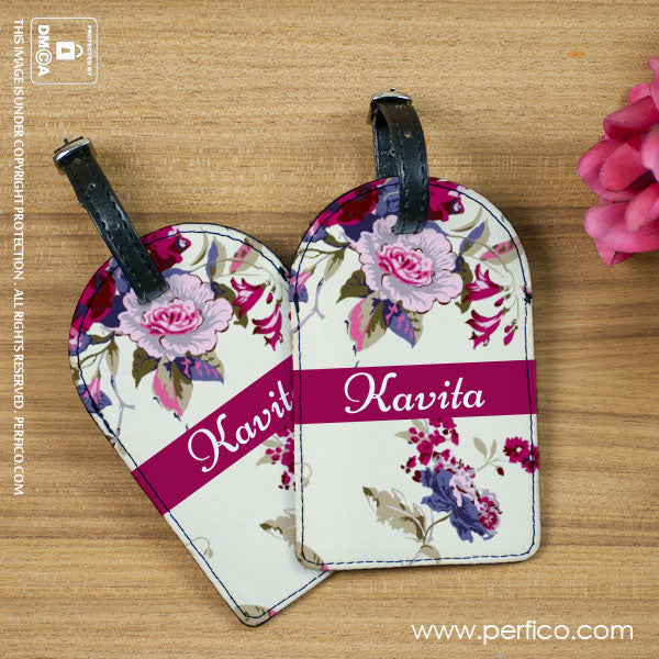 Personalized Luggage Tags for Girlfriend