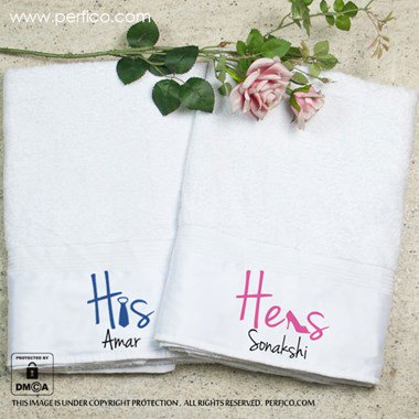 Towel Set for Couples