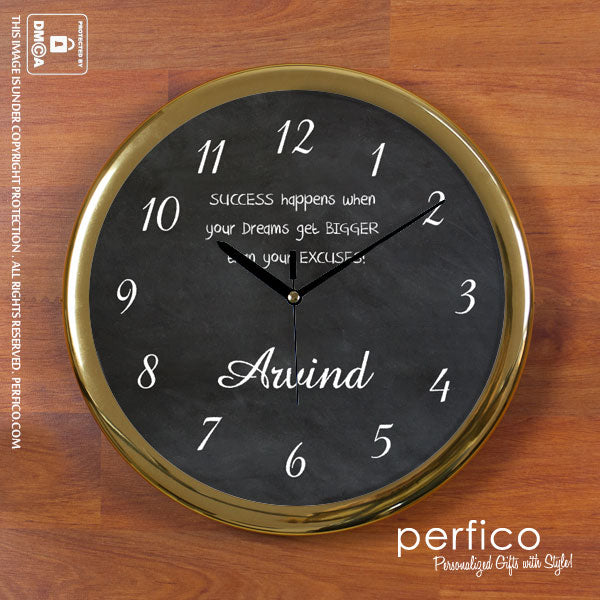 Personalised Wall Clocks