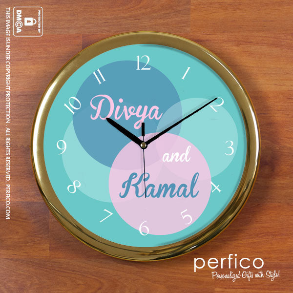 Best Return Gift Ideas for Wedding - Wall Clock