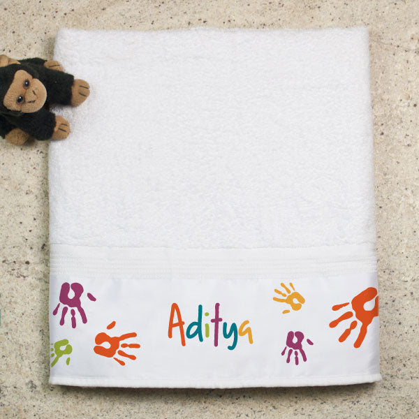 Return Gift Ideas for 1st Birthday - Towels for Kids
