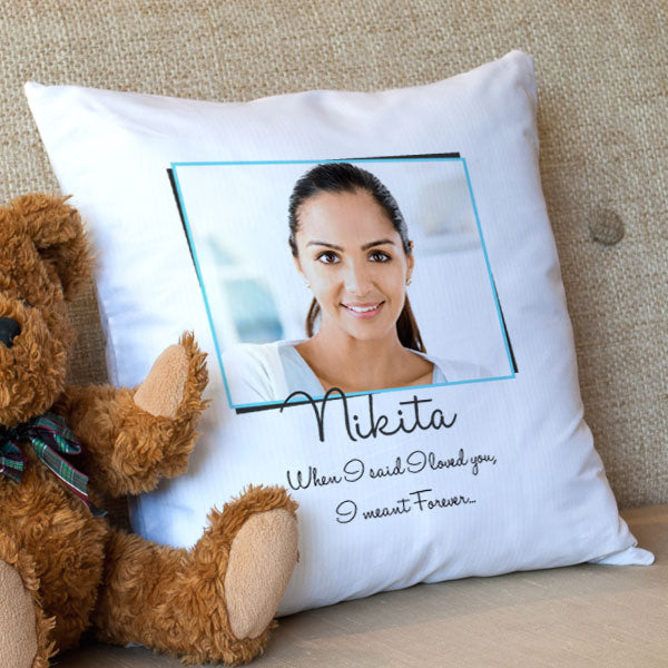 perfect wedding gift female - cushion cover