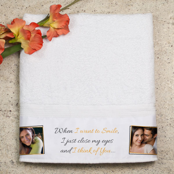 wedding gifts for female friend - towel