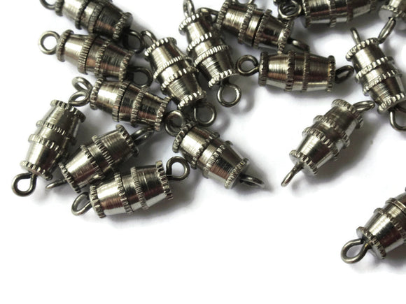 10mm Screw Barrel Clasps Antique Silver Grey Metal Clasps Vintage Clasps Jewelry Making Beading Supplies Smileyboy Beads Findings