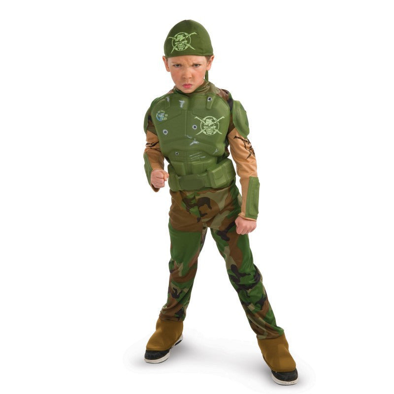 Combat Marine Child Costume [new]