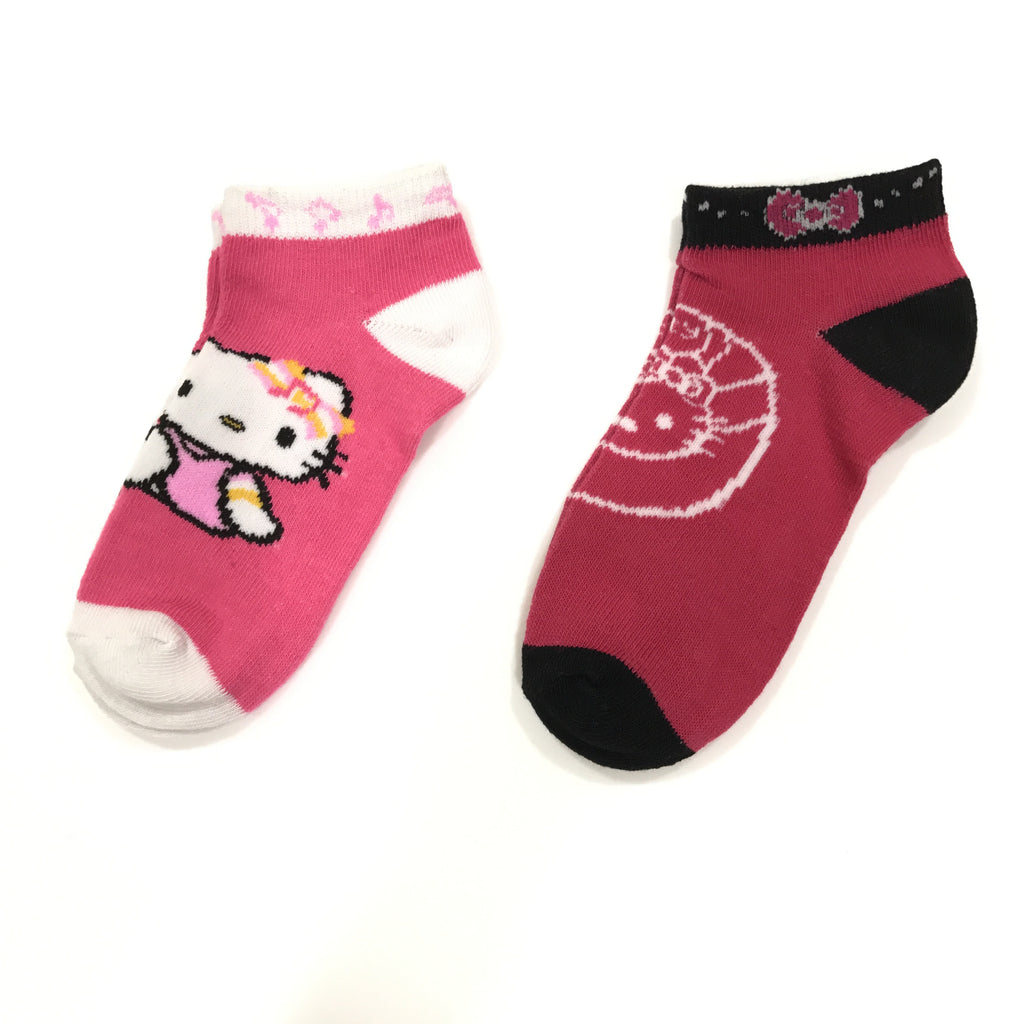 Toddler Hello Kitty Ankle Socks