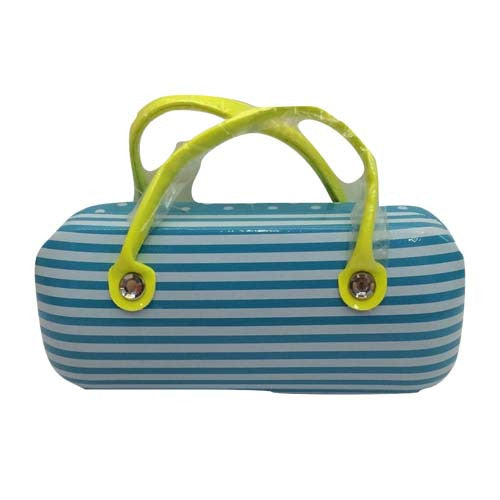 Sunglasses Box (Blue Stripes)