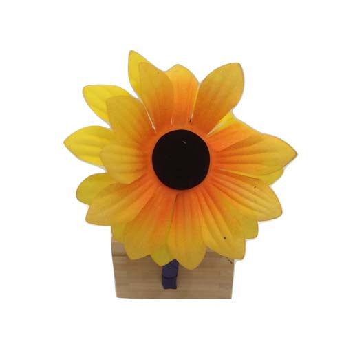 Sunflower Bow Hair Band