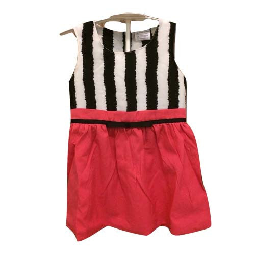 Chic Stripe Dress (Pink)