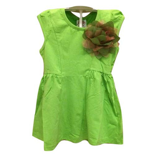 Girl Flower Broach Dress