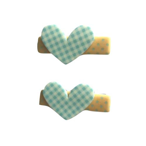 Heart Clip - Green