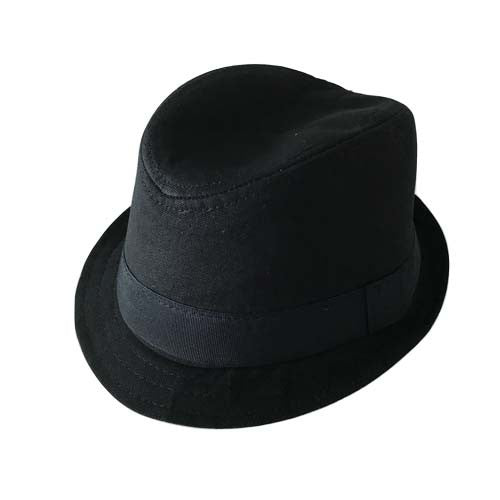 Boy Fedora Hat (Black)