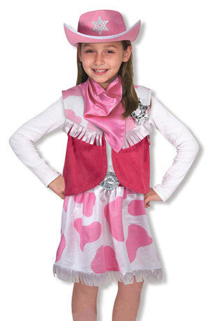 Pink Cowgirl Role Play Costume