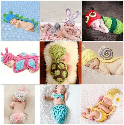 Newborn Crochet Costume [new]