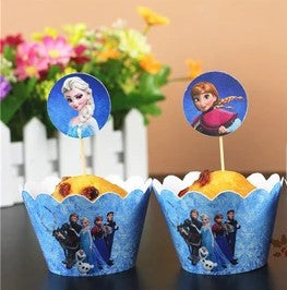 Frozen Cupcake Holder