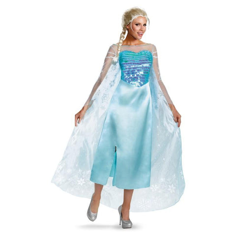 Adult Frozen Elsa Dress