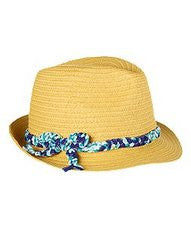 Happy Crab Straw Fedora