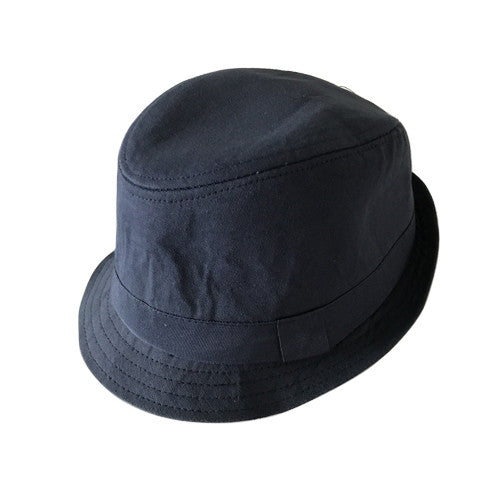 Boy Fedora Hat (Navy)
