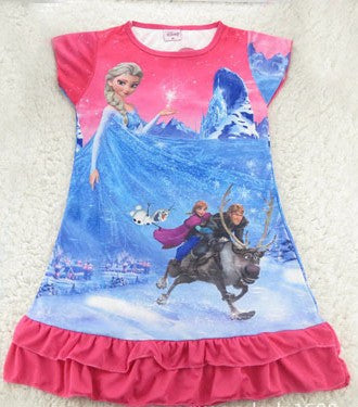 Elsa Pink Night Dress