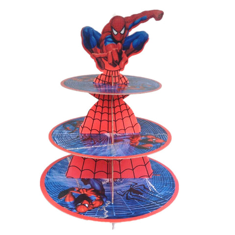 Spiderman Cupcake Stand