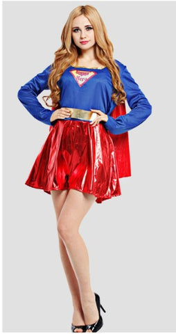 Adult Super Girl Costume [New]