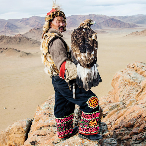 Mongolia: Hunting with Golden Eagle