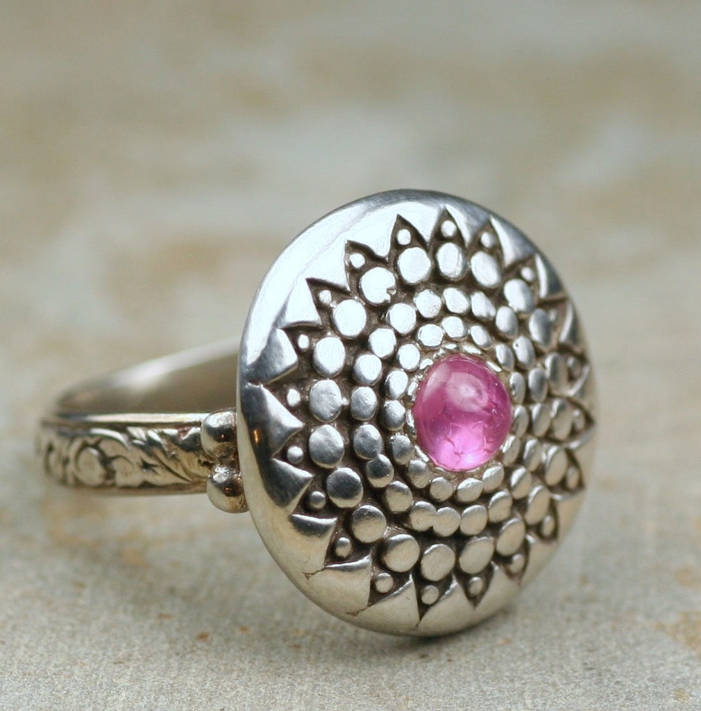 Lotus Mandala Ring
