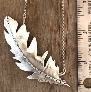 Peregrine Falcon Feather Necklace