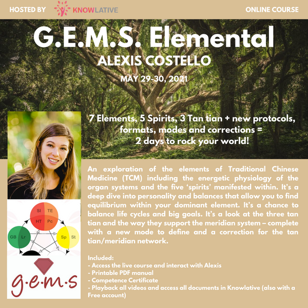 GEMS Elemental - Alexis Costello - May 29-30, 2021