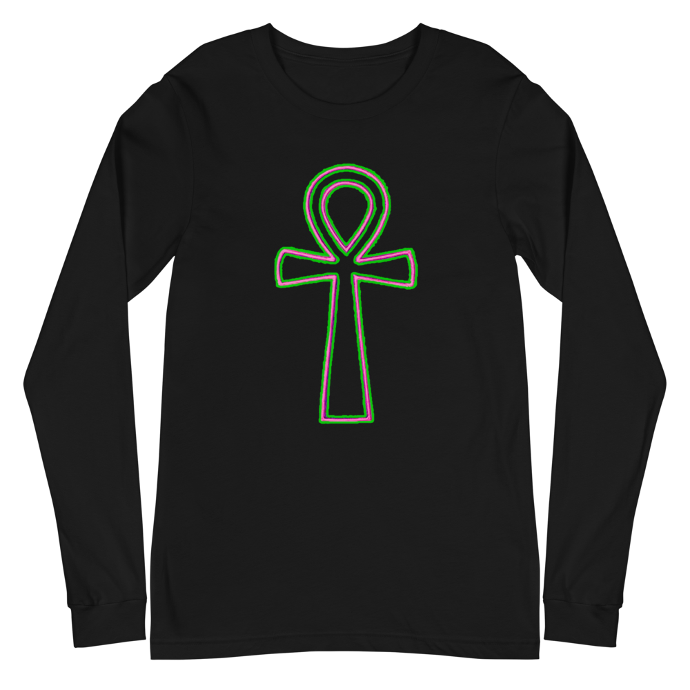 Ankh Long Sleeve Unisex T Shirt