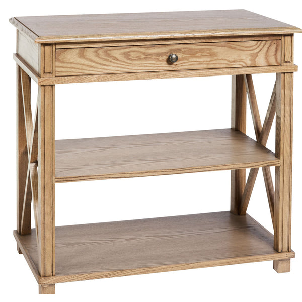 Montauk Bedside Table Large in Elm
