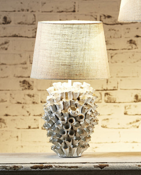 Coral Lamp- White