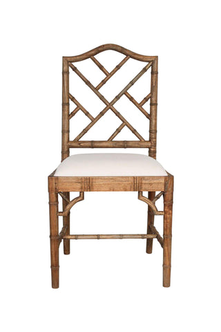 Chippendale Chair in Weathered Oak