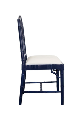 Chippendale Chair in Navy