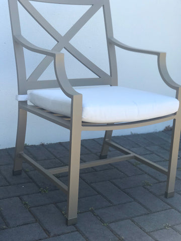Portofino Outdoor Dining Carver Chair