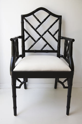 Chippendale Carver in Black