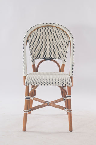 French Bistro Chair in Polka Dot